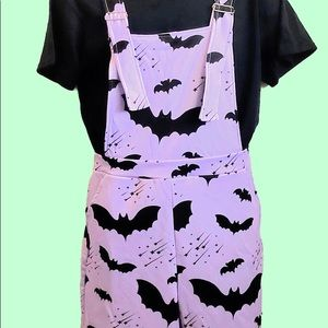 In Control Clothing Bat Overalls in PINK